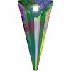 Swarovski Drop 6480 Spike 28mm Medium Vitrail P Crystal
